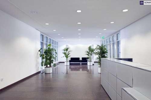HOCHMODERNES BUSINESS CENTER! + Top Ausstattung! Lichtdurchflutet + Beste Infrastruktur + Voll serviciert! Provisionsfrei! Ab 10m² Büroflächen verfügbar!
