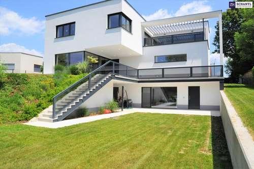 Hier bleiben keine Wünsche offen: Attraktive Traum-Villa in absoluter Grünruhelage in Pinkafeld!