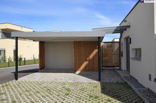 ITH: PROVISIONSFREIER NEUBAU! Doppelhaus mit wunderbarem Ausblick!