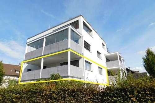 Tolle 3 Zimmer Terrassenwohnung, 84m² Wfl. mit Unterstellplatz nähe Hafen in Hard am Bodensee!