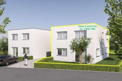Doppelhaushälfte ca. 118m² Wohnfläche mit Baugrund ca. 305m² in Meiningen! Haus 2