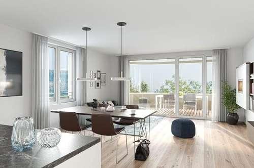 NEUBAU! Tolle 3 Zimmerwohnung mit 75,80m² im  2. OG - Haus A Top 07 - Keine Maklerkosten!