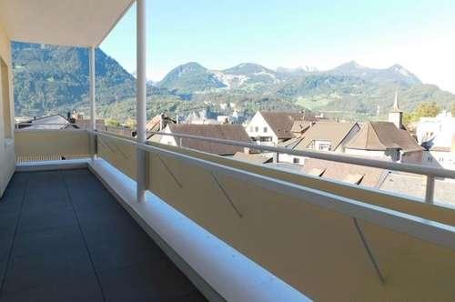 2 Zim. Wohnung im 5. OG mit 51,66m² im Zentrum von Bludenz! TOP 12