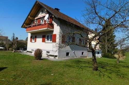 Älteres Einfamilienhaus in sonniger und zentraler Lage in Dornbirn, mit Erweiterungspotential!