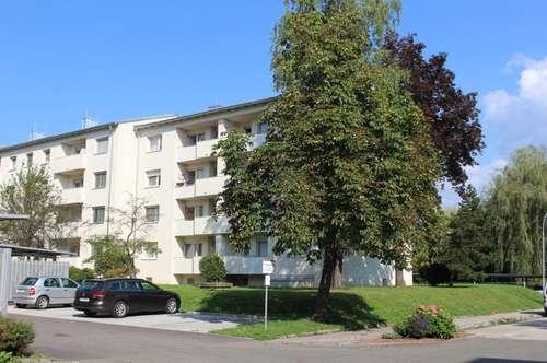 Südseitige, schöne 3 Zimmerwohnung im Erdgeschoss mit Balkon - in absolut ruhiger Grünlage - provisionsfrei!