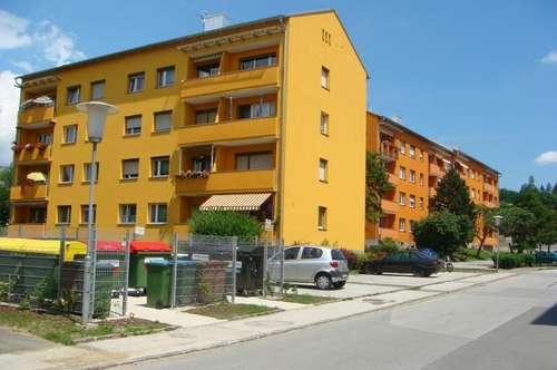 sonnige, geräumige 3-Zimmer-Familienwohnung im Erdgeschoß mit Balkon