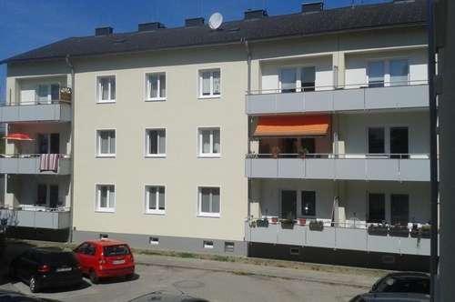 2-Raum-Wohntraum mit BALKON am Inn, nur 5 Min. ins Zentrum von Braunau oder Simbach (BRD), die dennoch naturnahe Lage verspricht hohen Erholungswert!