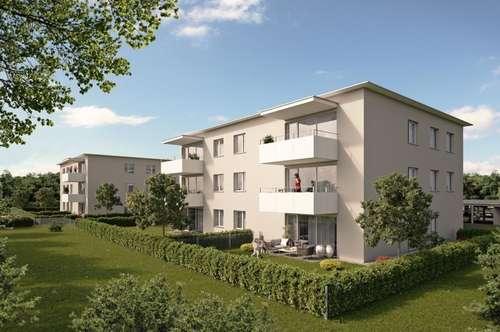 Baubeginn erfolgt! Moderne Gartenwohnung im malerischen Ort Fischböckau! Leistbares Wohnvergnügen dank großem Landesdarlehen! Provisionsfrei!