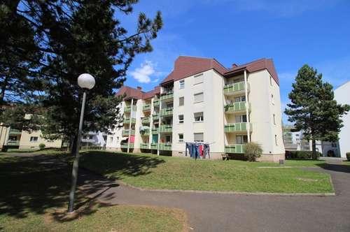 Ruhige Zweizimmerwohnung mit West-Balkon, Lift & neuwert. Küche - in hübscher Waldrandlage