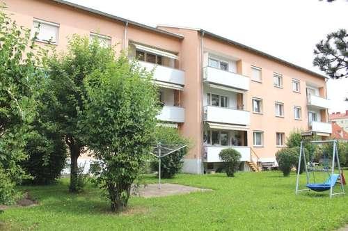 Judenburg-Stadt: Sehr gepflegte 3 Zimmer-Whg. mit Süd-Balkon in optimaler Grünlage - zentrumsnah