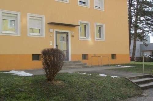 Großzügig geschnittene 2 Raum Wohnung im Erdgeschoß, Badezimmer mit Badewanne, Stadtteil Steyr Münichholz
