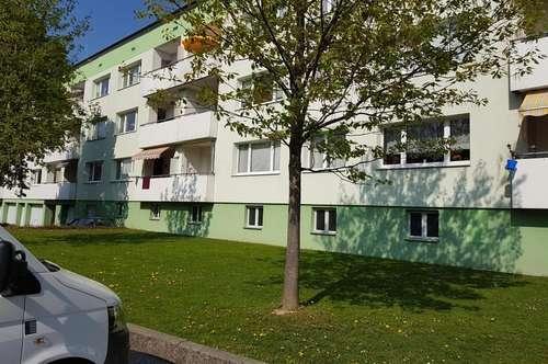 Preiswerte 3-Raum-Wohnoase mit Balkon in malerischer innviertler Landschaft im auftrebenden Schärding in der beliebten WAG-Siedlung! Prov.frei!
