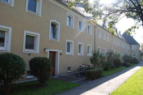 Hohe Wohn- und Lebensqualität in idyllischer Grünlage genießen! Preiswerte 2-Raum-Wohnung im äußerst beliebten Stadtteil Spallerhof! Provisionsfrei!