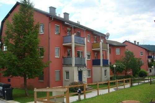 sonnige geräumige 2-Zimmer-Wohnung im Erdgeschoß mit Balkon und Garage provisionsfrei