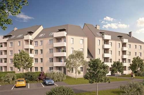 Neubau - Dachgeschoß-Wohn(t)raum auf höchstem (DG-)Niveau mit beeindruckendem Ausblick im beliebten Stadtteil Bindermichl/Oed