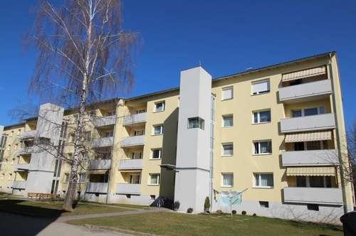 Ruhige 79m² Wohnung mit Sonnen-Balkon in gepflegter Grünlage am Ortsrand - provisionsfrei!