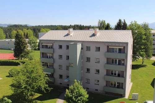 Helle, gepflegte 80 m² Familien-Wohnung mit neuem Bad & sonnigem Balkon in hübscher Grünlage