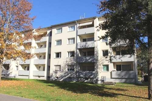 Helle 3 Zimmerwohnung mit Sonnen-Balkon und Lift in einer modernen & gepflegten Wohnanlage am Ortsrand