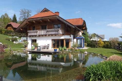 Exklusives Landshaus mit Naturschwimmteich