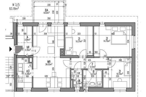 PROVISIONSFREI - Kirchbach-Zerlach - ÖWG Wohnbau - geförderte Miete ODER geförderte Miete mit Kaufoption - 4 Zimmer