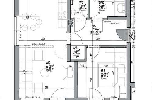 PROVISIONSFREI - Turnau - ÖWG Wohnbau - geförderte Miete mit Kaufoption - 2 Zimmer