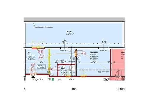 Demnächst: Neu sanierte Mietwohnung (Top 6) mit ca. 44,57 m² + Terrasse in der Nähe von Ternitz!