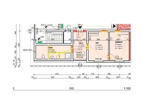 Demnächst: Neu sanierte Mietwohnung (Top 8) mit ca. 44,65 m² in der Nähe von Ternitz!