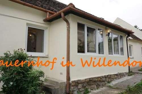 WILLENDORF: Bauernhof zur eigenen stilistischen Fertigstellung zu verkaufen!