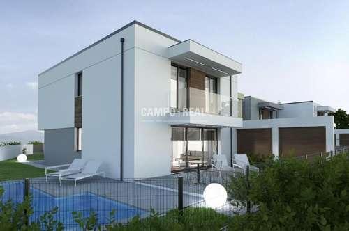 CAMPO-HAUS: Massiv-Bau, Wohntraum in einem Doppelhaus (4)! Belagsfertig 2020