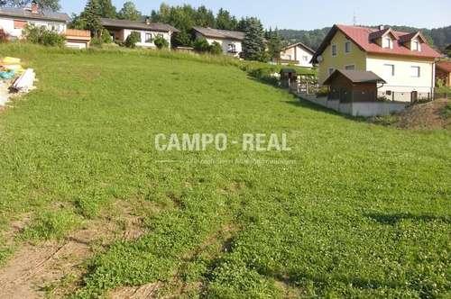 CAMPO-GRUND: Die letzte Parzelle - Baugrund in Eschenau