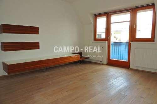 CAMPO-WOHNUNG: Sonnige 3-Zimmer + Balkon + Garage
