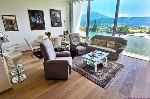 Moderne 3-Zimmer- Wohnung mit traumhaften Panoramablick