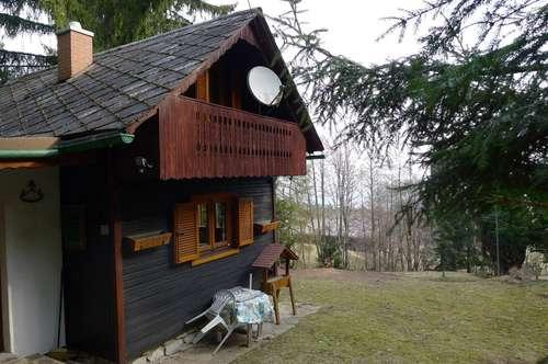 Idyllisches Wochenendhaus nächst Reinischkogel und Schilcherweinstraße! Video auf der Homepage!