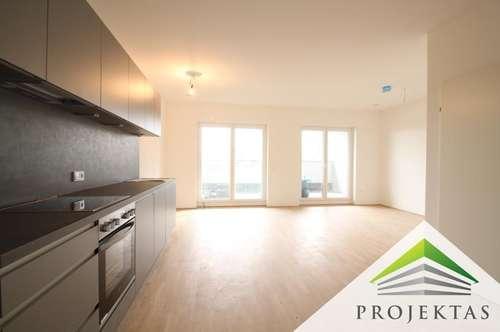Kuwa 39 | NEUBAU-PENTHOUSE am Fuße des Froschbergs - 3 Zimmerwohnung mit Küche & Loggia | 360° Rundgang online!