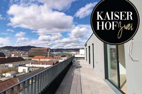 KAISERHOF 2 | Exklusives 3 Zimmer-Penthouse mit 2 Terrassen zum ERSTBEZUG