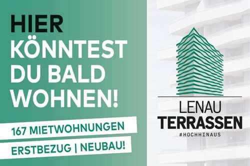 LENAU TERRASSEN - UP NACH OBEN! Spektakuläres Neubauprojekt!