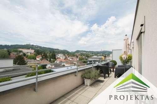 Wunderschöne 3 Zimmer-Dachgeschoss-Wohnung mit großzügiger Terrasse!