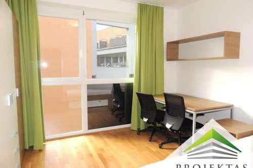 Schöne vollmöblierte 2 Zimmer Wohnung mit Küche und Außenbereich - Nähe Medizinuni