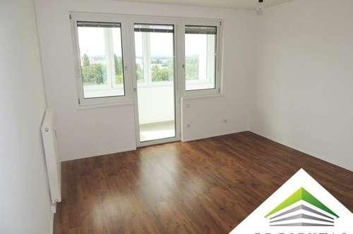 Helle 2 Zimmerwohnung mit Weitblick und Küche - ab sofort verfügbar