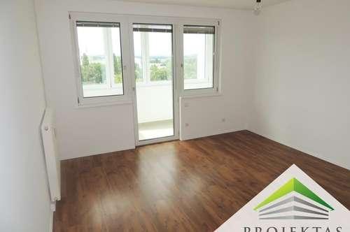 Generalsanierte 3 Zimmerwohnung mit Weitblick und Küche - ab sofort verfügbar!