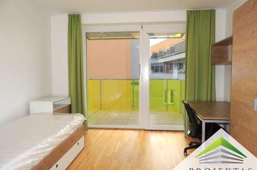 Vollmöblierte 2 Zimmer Wohnung mit Küche und Balkon - 1 Monat mietfrei! - Nähe Medizinuni