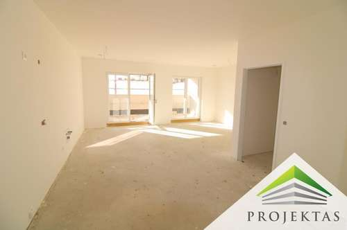 Kuwa 39 | Neubau-Wohnung am Fuße des Froschbergs - 3 Zimmerwohnung mit Loggia