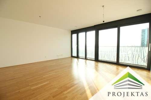 Exklusives 2 Zimmer Apartment mit Balkon und traumhaftem Ausblick in zentraler Linzer Stadtlage!