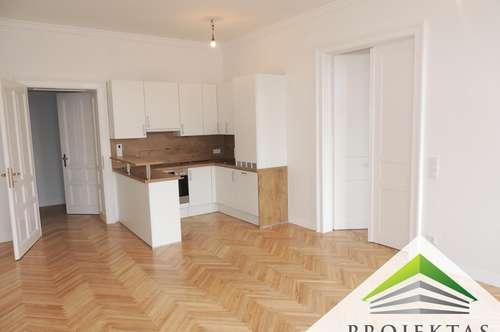 Exklusive 2 Zimmer-Altbau-Wohnung direkt an der berühmten Linzer Landstraße!