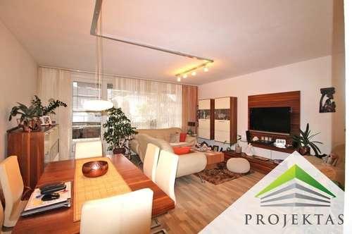 3 Zimmer-Maisonette-Wohnung mit Küche & großer Terrasse in der Innenstadt