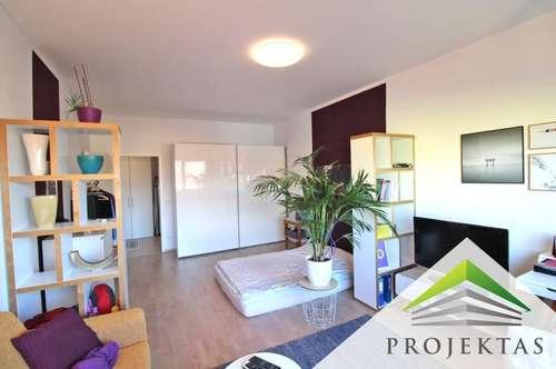 Moderne 2 Zimmerwohnung mit neuer Küche & Donaublick -  Am Linzer Winterhafen