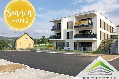 SONNENHANG | Strahlend schön wohnen! GARTEN - Wohnung mit Terrasse in Unterweitersdorf! | 360° Rundgang online!
