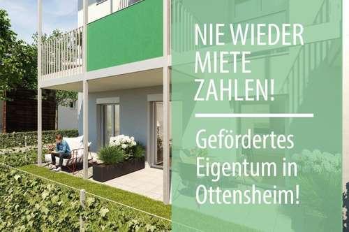 Nie wieder Miete zahlen! Ihre geförderte Neubau 3-Zimmerwohnung wartet auf Sie!
