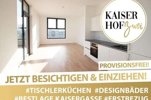 PENTHOUSE KAISERHOF 2 | ALL-INCLUSIVE WOHNEN! 3 Zimmer mit großer Terrasse zum ERSTBEZUG - PROVISIONSFREI | 360° Rundgang online!