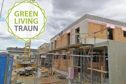 Rohbauten fertig! GREEN LIVING TRAUN - Familienfreundliche Doppelhäuser am Drosselweg!